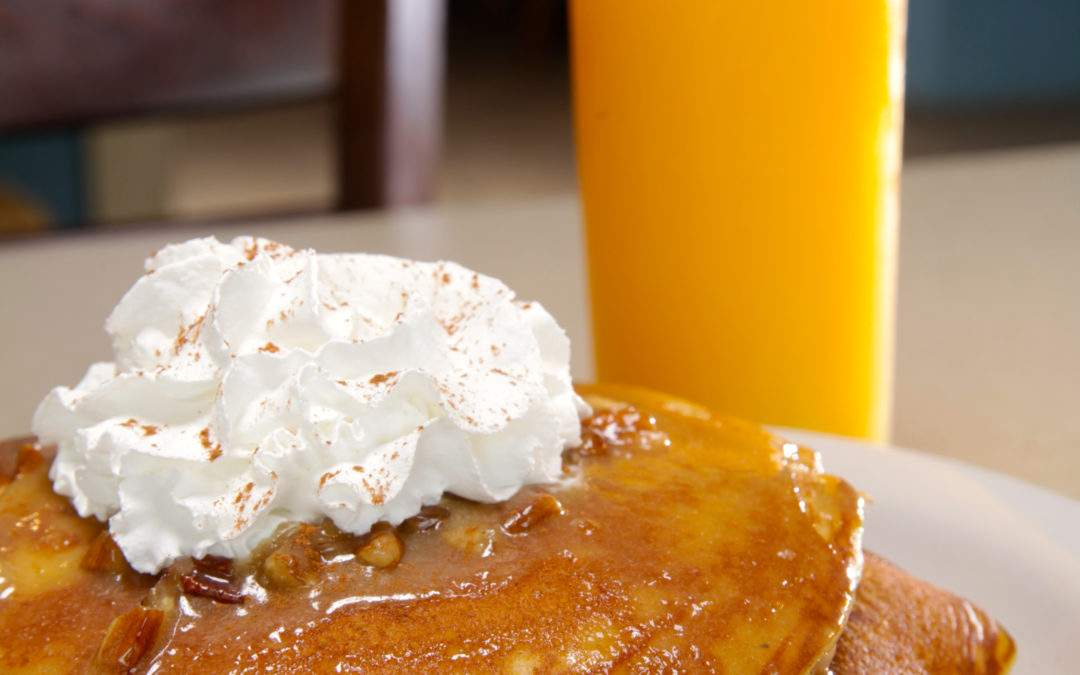 Sweet Potato Pancakes for a Cause!